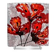 Poppies 47 Shower Curtain