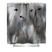 Poppies Upheaval Shower Curtain