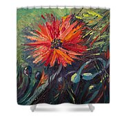 Poppin' Poppies Shower Curtain