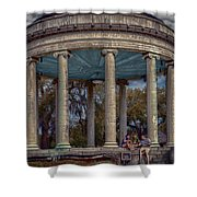 Popps Bandstand In City Park Nola Shower Curtain