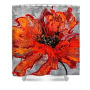 Poppy 41 Shower Curtain