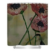 Poppy Breeze A Shower Curtain