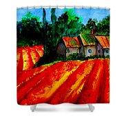 Poppy Field  Sold Shower Curtain