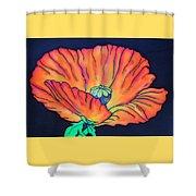 Poppy I Shower Curtain