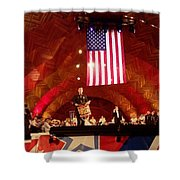Pops Finale Shower Curtain