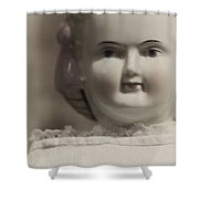Porcelain Shower Curtain