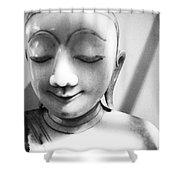 Porcelain Statuette Shower Curtain