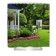 Porch And Garden Shower Curtain