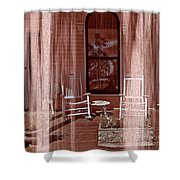 Porch - Dreaming Shower Curtain