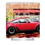 Porsche Series 01 Shower Curtain