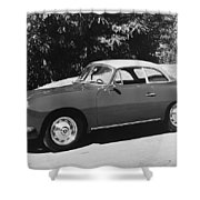 Porsche 356 Hardtop Shower Curtain