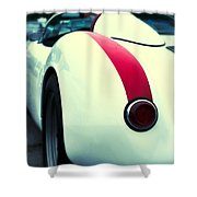 Porsche 550 Shower Curtain