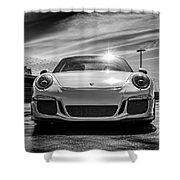 Porsche 911 Gt3 Shower Curtain