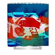 Porsche 917 Racing 1 Shower Curtain
