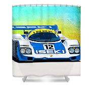 Porsche 956c - 118 Shower Curtain