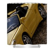 Porsche Car Shower Curtain