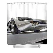 Porsche Nine O Four Low Angle Shower Curtain