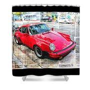 Porsche Series 02 Shower Curtain