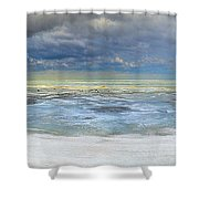 Port Austin 1st Day Of Spring Shower Curtain