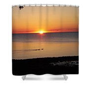 Port Austin Shower Curtain