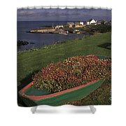 Port Ballintrea Shower Curtain
