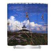 Port Boca Grande Lighthouse Shower Curtain