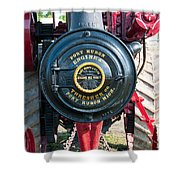 Port Huron Tractor Shower Curtain