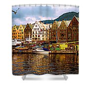 Port Life Shower Curtain