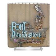 Port Of Albuquerque Shower Curtain