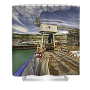 Port Of Dover  Shower Curtain