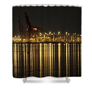 Port Of Vancouver Bc Canada Shower Curtain