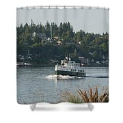 Port Orchard Foot Ferry Shower Curtain