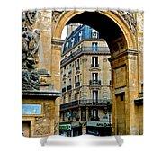 Port Saint Denis Shower Curtain