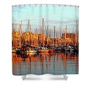 Port Vell - Barcelona Shower Curtain