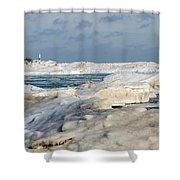 Port Washington - South Beach 2  Shower Curtain
