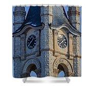 Port Washinton Court House Steeple 1  Shower Curtain