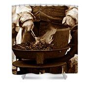 Portable Forge Circa 1800s Shower Curtain