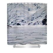 Portage Lake Shower Curtain