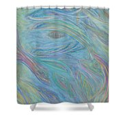Portal In Belize Reef Shower Curtain