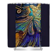 Portal Of The Divine Shower Curtain