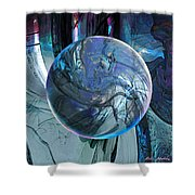 Portal To Divinity Shower Curtain