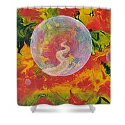 Portals And Dimensions Shower Curtain