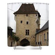 Porte Du Croux - Nevers Shower Curtain