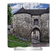 Porte Saint-jean Shower Curtain