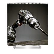 Porter-cable Drill Shower Curtain