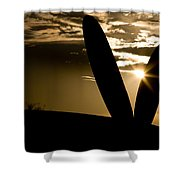 Porter Sunset Shower Curtain