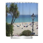 Porthminster Cornwall Shower Curtain