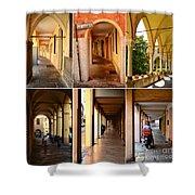 Porticos Of Padua No 4 Shower Curtain