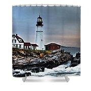 Portland Head Lighthouse 1 Shower Curtain