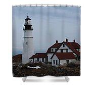 Portland Head Lighthouse 8529 Shower Curtain